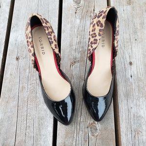 TORRID High Heel With Animal Print